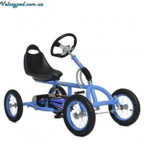 Велокарт Bambi M 1697 - 12 надувные резиновые колеса 12 дюймов Амортизатор 126см - 1314